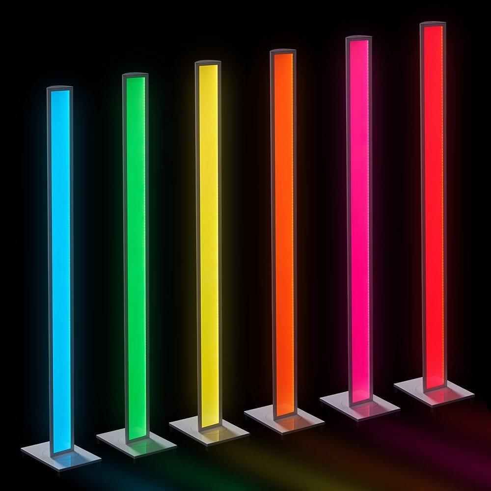 koncept mc1 wht flr tono led mood light white finish desk lamps