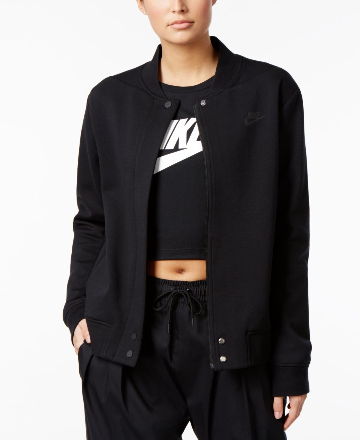 Women's Nike Tech Fleece Destroyer Jacket by NIKE
