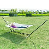 OnCloud 15 FT Heavy Duty Steel Hammock Stand Only with 2 Adjustable Chains Assemble Easily