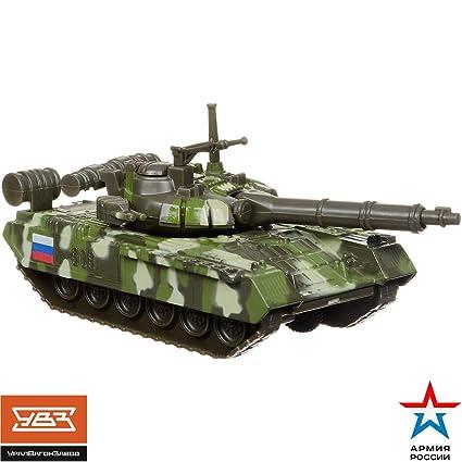 Amazon.com: Juguete ruso Diecast tanque de metal T-90 ...