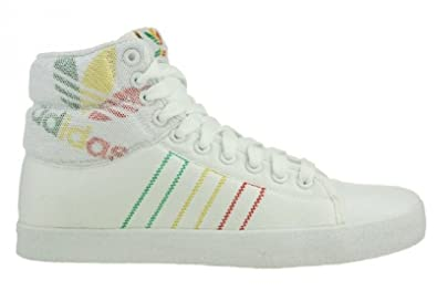 Adidas Originals Indoor Tennis Mid Mens Boots - white (9 uk)  Amazon ... 95e8cb245cf