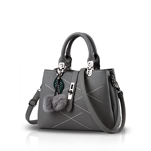 Nicole&Doris 2018 new wave packet Messenger bag ladies handbag female bag handbags for women(Gray)