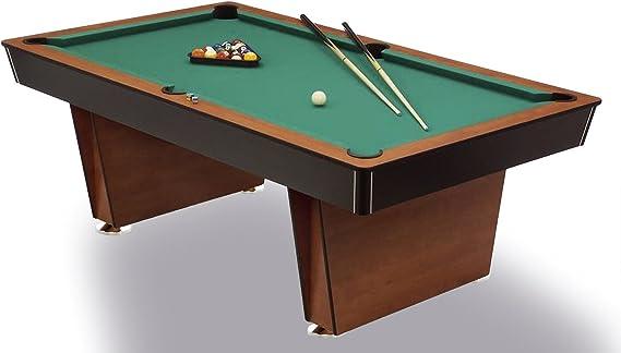 Manitou Mesa de Billar Pool Lugano – 6 Feet – – Pizarra, Acabado Muy Resistente Pool Mesas de Billar: Amazon.es: Deportes y aire libre