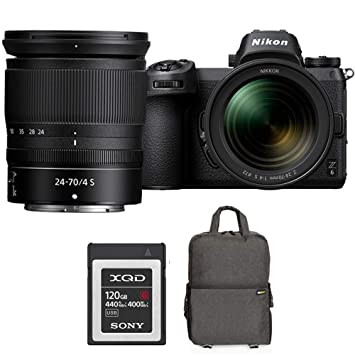 Amazon.com: Nikon Z6 24,5 MP FX-Format 4K cámara sin espejo ...