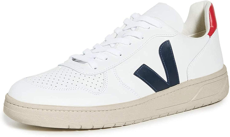 Estribillo Alegaciones De alguna manera  Veja V10 Leather Trainers White: Amazon.co.uk: Shoes & Bags