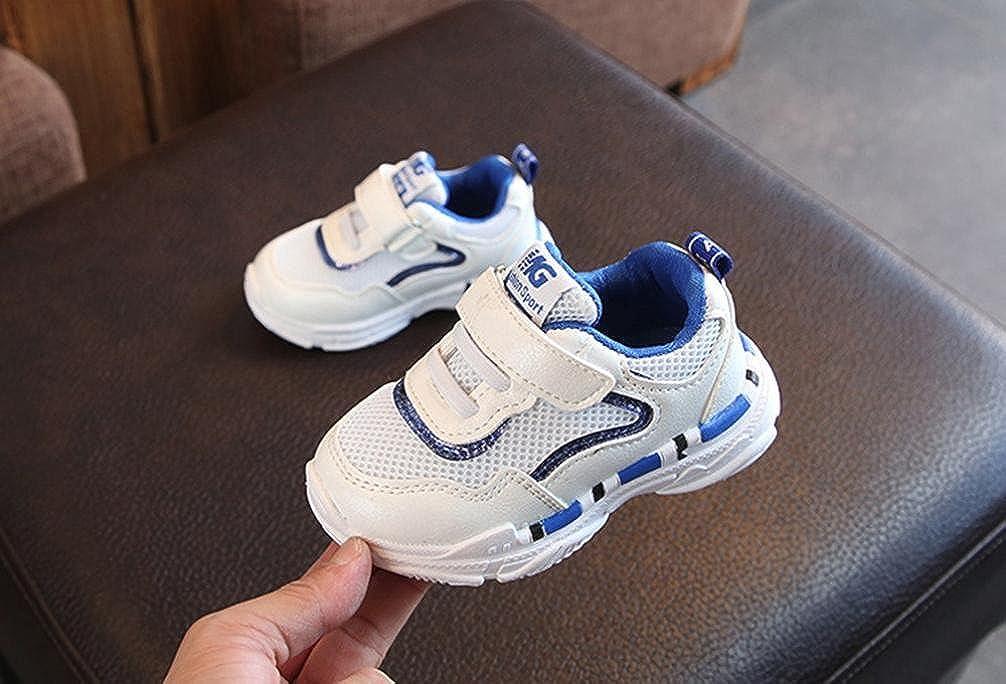 ZODOF Niño pequeño Bebé Niños Niñas Niños Zapatillas de Deporte Casuales Malla Zapatillas de Deporte Zapatos Zapatillas Respirable Mocasines: Amazon.es: ...