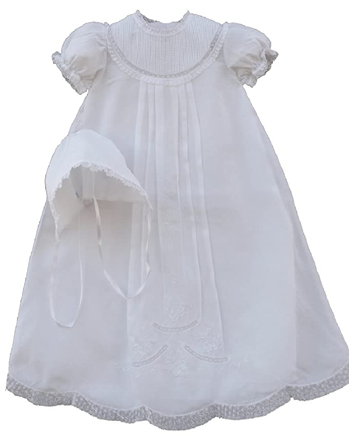 Amazon.com: Feltman Brothers Infant Baby Girls White Christening ...