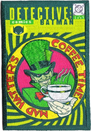 Application DC Comics Batman Mad Hatter Patch