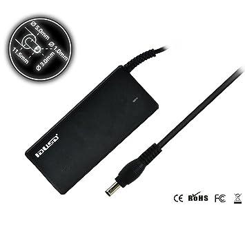Idusd - Cargador para ordenador portatil 60w compartible con samsung(19v , 3.16a)