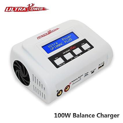 Cargadores de up100ac Plus 100 W batería Lipo Balance ...