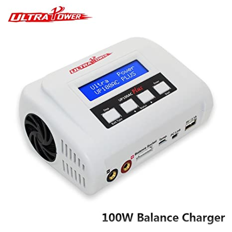 Cargadores de up100ac Plus 100 W batería Lipo Balance cargador RC ...
