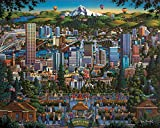 Dowdle Jigsaw Puzzle - Portland City of Roses
