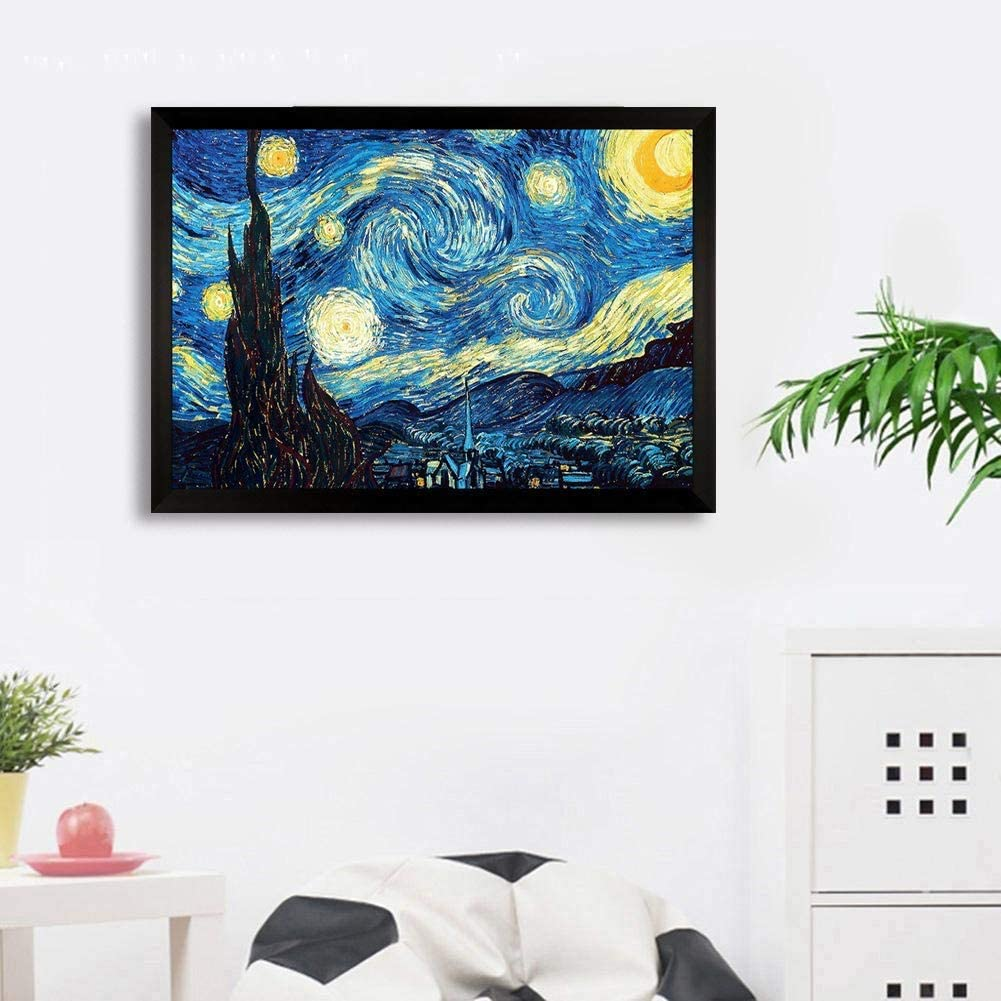 Cat 12x16 DIY 5D Diamond Painting Kits for Adult Round Full Drill Embroidery Cross Stitch Paint with Diamonds Arts Craft Gift for Home Wall Decor