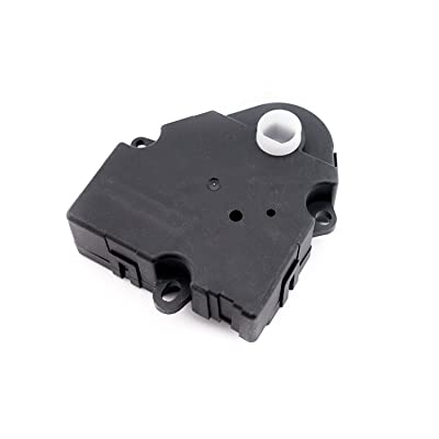 Air Door Actuator - Replaces 15-73952, 52495593, 89018374, 604-112 - Fits 2003-2014 Chevrolet, Chevy, GMC, Cadillac, Hummer Models - HVAC Blend Control Actuator - Air Heater Blend Door: Automotive