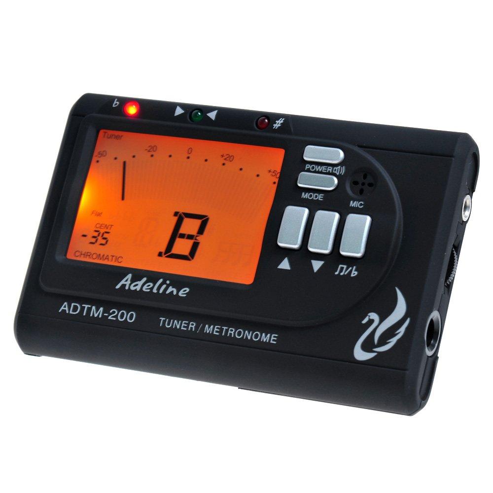 Kmise A7045 1 Set Guitar Bass Violin Ukulele LCD Digital Multi-Function Compact Metronome