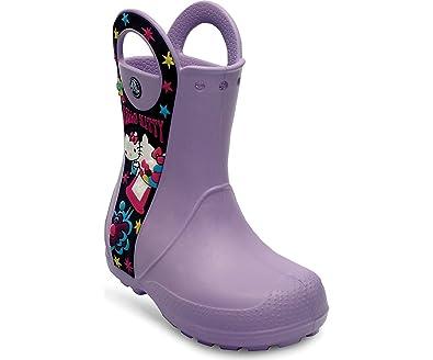 e3c4a6faae21 Crocs - Kids Girls Hello Kitty Candy Blast RainBt Shoes
