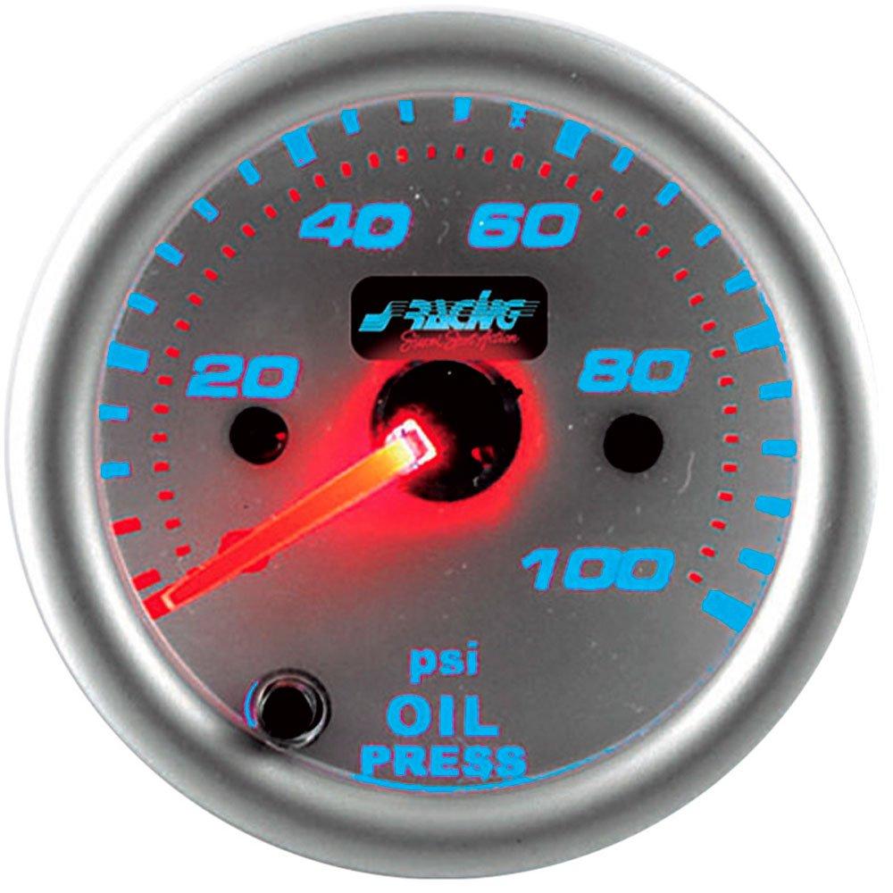 Simoni Racing OP/R7 Indicatore Pressione Olio, Bianco