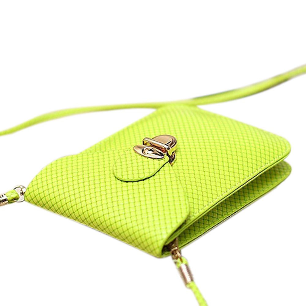 Functional Roomy Pocket Small Crossbody Bag Cell Phone Purse Wallet For Women by She25 (Image #3)
