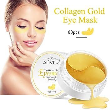 24K Gold Powder Gel Collagen Eye Mask, Anti Aging, Anti Wrinkle,  Moisturiser for Under Eye Wrinkles,