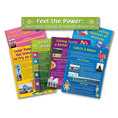 NORTH STAR TEACHER RESOURCE Alternative Energy Renewable Resources Bulletin Board Set