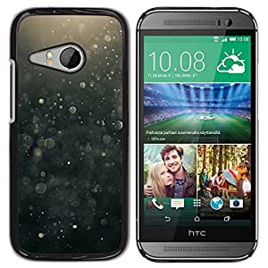 Impact Case Cover with Art Pattern Designs FOR HTC ONE MINI 2 / M8 MINI Suspension Black Bubbles Hope Betty shop