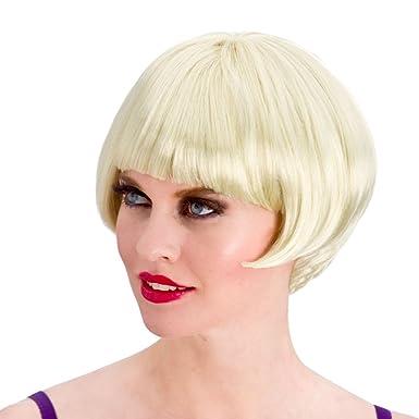 Ladies 1920 de Rubio Flapper peluca disfraz