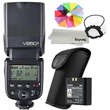 Godox V850II Built-in 2 4G Supports Master Slave Li-ion