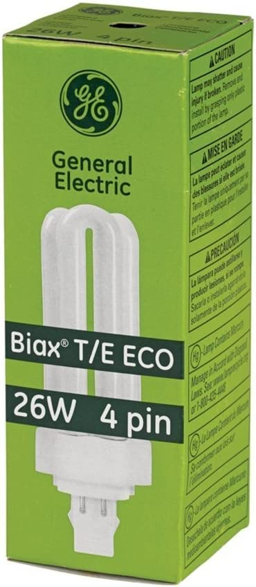 (10 Pack) GE Biax 26-Watt T/E ECO Triple Tube 4-Pin Light Bulb