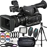 Sony PXW-X200 XDCAM Handheld Camcorder 21PC Accessory Kit. Includes 2 Replacement BPU-90 Batteries + 3PC Filter Kit (UV-CPL-FLD) + 6PC Multi-Colored Graduated Filter Set + MORE