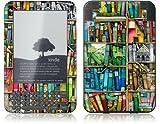 GelaSkins Kindle Skin (Fits Kindle Keyboard) Bookshelf