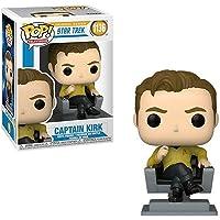 $22 » Funko Pop - 1136 Television - Star Trek - Captain Kirk in Chair Vinyl Figure