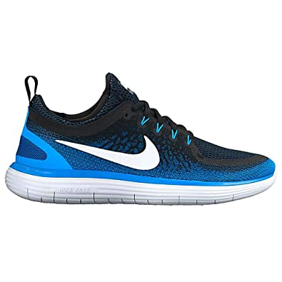 Nike Men's's Free Rn Distance 2 Running Shoes Blue (Armoury
