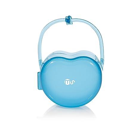 Innovaciones MS 1141 - Caja portachupete, color azul: Amazon ...
