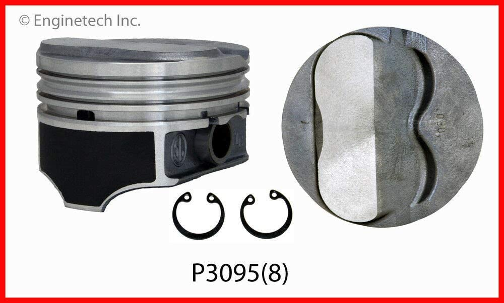 GM 6.0L V-8  ROD AND PISTON USED