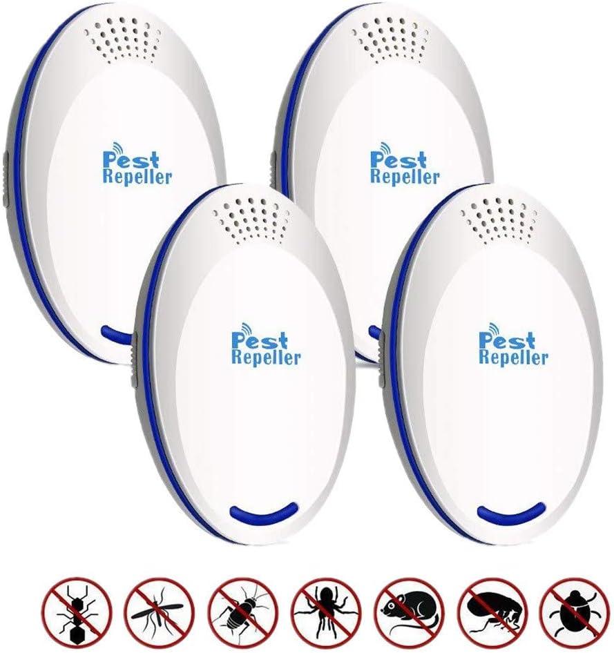 CAOQAO - Repelente de Mosquitos antimosquitos, 4 Unidades USB ...
