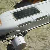 Amazon Com Camco 42165 Refrigerator Solar Roof Vent System Automotive