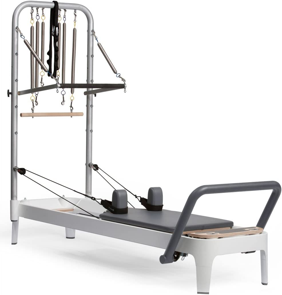 balanced body Allegro 2 Reformer System, with Tower, Mat Legs
