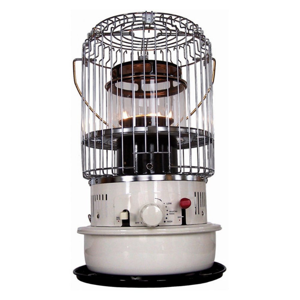 Dura Heat Dh1051 Convection Kerosene Heater Portable Indoor Off White 2