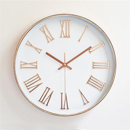 WERLM Diseño de la personalidad en la decoración del hogar Reloj de pared Reloj de Arte
