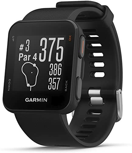 Garmin Approach S10 – Lightweight GPS Golf Watch, Black, 010-02028-00