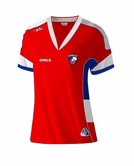 Chile Slim Mujer Soccer Jersey diseño exclusivo Copa América Centenario 2016