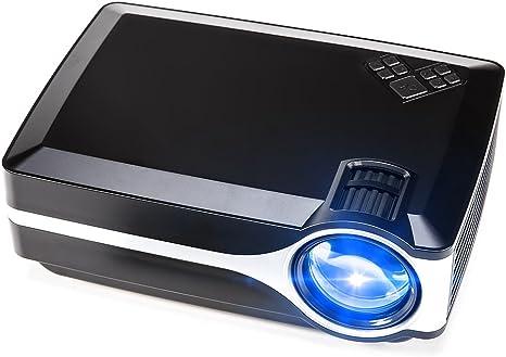 Proyector, Crenova XPE 495 1080P HD Mini Proyector de Video ...