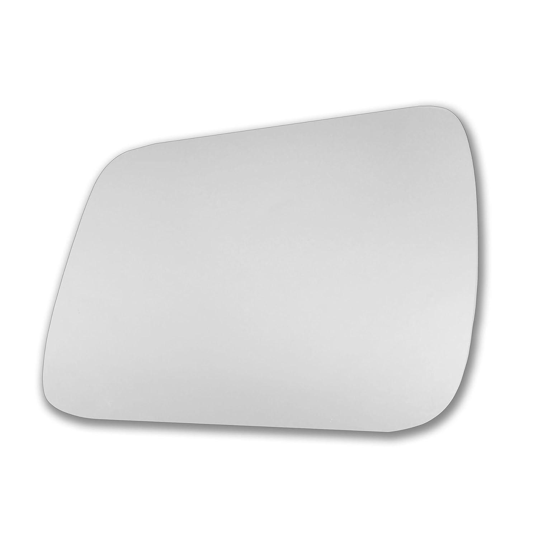 Lato sinistro specchietto porta bastone specchio di ricambio lato passeggero Quick Fix argento # Meb meb-c Vetro vero 08//11-l /_ C