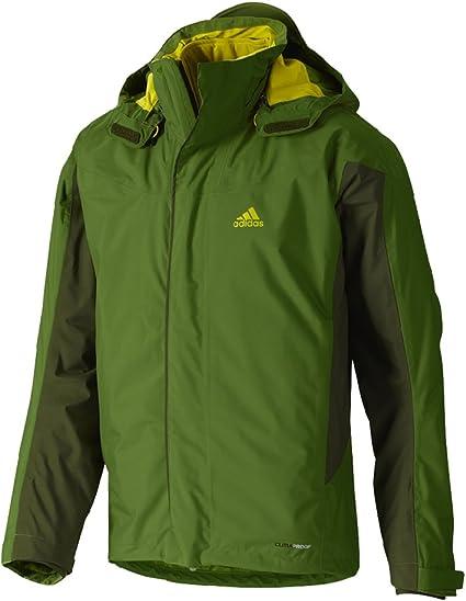 adidas Ht 3 1 CPS2 Doppeljacke Storm 2 grün V11041, Größe:54