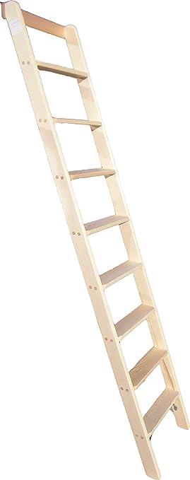 Unterschiedlich Anlegeleiter 7-Stufen Holz Deko Holzleiter Stufenleiter Hochbett  MD72