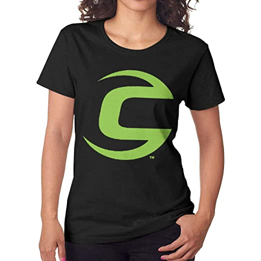 Edgar John Cannondale Green Bike Logo Women s Classic Fashion Short Sleeve  T-Shirt Black at Amazon Women s Clothing store  c1307c0d7