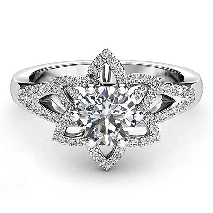 Yunyoud Herzen Und Pfeile Diamant Ohrringe Verlobungsringe