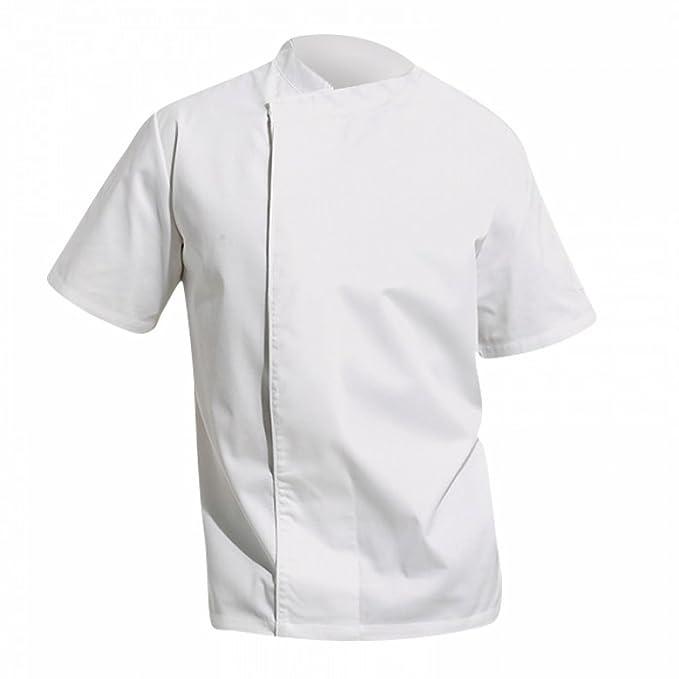 Premier - Giacca da Chef Maniche Corte Bottoni Automatici - Unisex  Amazon. it  Abbigliamento a20b8fd65773