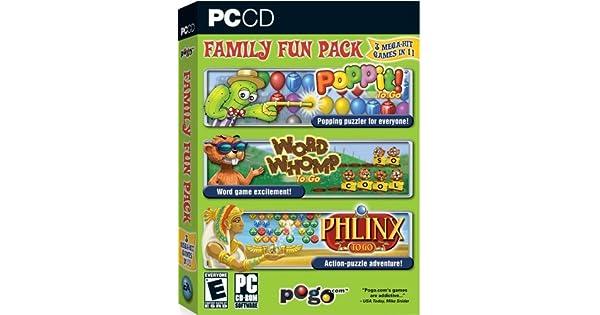 Pogo.com Family Fun Pack: Poppit! To Go / Word Whomp to Go ...