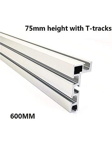 Aluminiumlegierung T-Nut Gehrungsschiene Jig T Schraubbefestigung Slot 100mm 450mm f/ür Tischkreiss/äge Router Tisch Holzbearbeitungswerkzeug 200MM 300mm 200mm